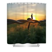Sunrise In June  Shower Curtain