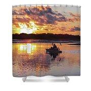 Sunrise In Murrells Inlet, Sc Shower Curtain