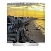 Sunrise In Rio De Janeiro Shower Curtain