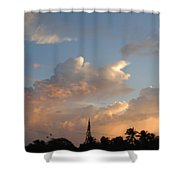 Sunrise In Sosua, Dr Shower Curtain