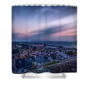Sunrise In St Ives In Cornwall Shower Curtain