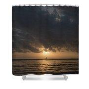 Sunrise In Tanga Shower Curtain