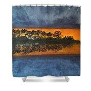 Sunrise In The Amazonas Shower Curtain