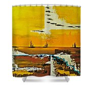 Sunrise In The West Shower Curtain