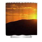 Sunrise In The Whites Shower Curtain