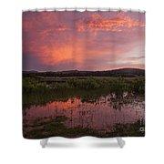 Sunrise In The Wichita Mountains Shower Curtain