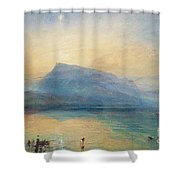Sunrise Shower Curtain by Joseph Mallord William Turner