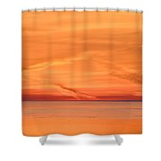 Sunrise Layers Two  Shower Curtain