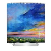 Sunrise Magic Shower Curtain