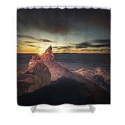 Sunrise March 24 740 Am Sturgeon Bay Shower Curtain