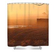Sunrise Mist Shower Curtain