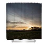Sunrise More Color Shower Curtain