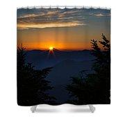 Sunrise Myrtle Point Shower Curtain