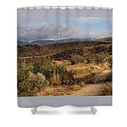 Sunrise Near Boise, Idaho Shower Curtain