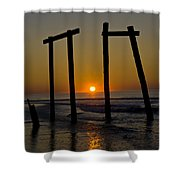 Sunrise At Ocean City Shower Curtain