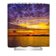 Sunrise, New Orleans Shower Curtain