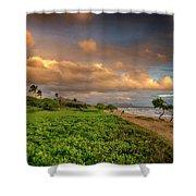 Sunrise Nukolii Beach Kauai Hawaii 7r2_dsc4068_01082018 Shower Curtain