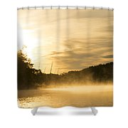 Sunrise Of Fire Shower Curtain