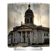 Sunrise On Cherokee County Courthouse Shower Curtain