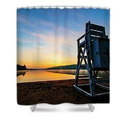 Sunrise On Eighth Lake 1 Shower Curtain