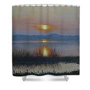 Sunrise On Lake Hollingsworth Shower Curtain