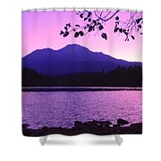 Sunrise On Lake Shasta Shower Curtain