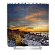 Sunrise On Mackinac Island Shower Curtain