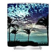 Sunrise On Miami Beach Shower Curtain