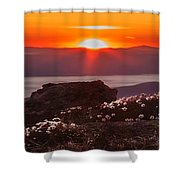 Sunrise On Mount Clay 2 Shower Curtain