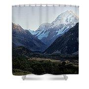 Sunrise On Mt. Cook Shower Curtain