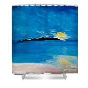Sunrise On My Emotions Shower Curtain