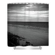 Sunrise On Santa Rosa Beach Shower Curtain