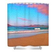 Sunrise On Sea Of Cortez Shower Curtain