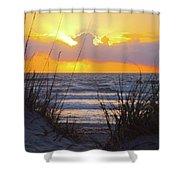Sunrise On The Atlantic Shower Curtain