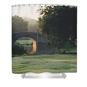 Sunrise On The Golf Course Shower Curtain