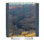Sunrise On The Grand Canyon Shower Curtain