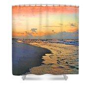 Sunrise On The Gulf Shower Curtain