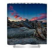 Sunrise On The Jeffrey Pine Shower Curtain