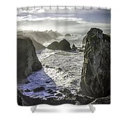 Sunrise On The Pacific Coast Shower Curtain