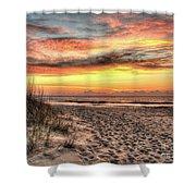 Sunrise Outer Banks Of North Carolina Seascape Shower Curtain