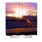 Sunrise Over Del Mar Fair Shower Curtain