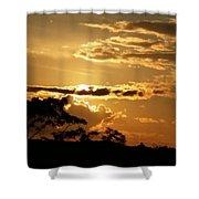 Sunrise Over Fort Salonga4 Shower Curtain