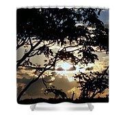 Sunrise Over Fort Salonga6 Shower Curtain