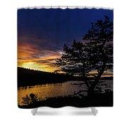 Sunrise Over Hauser Shower Curtain