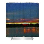 Sunrise Over Ile-bizard - Quebec Shower Curtain