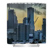 Sunrise Over Melbourne Shower Curtain