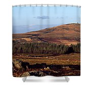 Sunrise Over Mont Saint-michel At Monts Shower Curtain