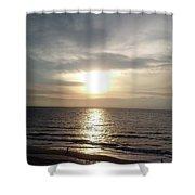Sunrise Over Myrtle Beach, Sc Shower Curtain