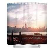 Sunrise Over Nyc Shower Curtain