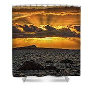 Sunrise Over Rabbit Head Island Shower Curtain